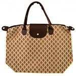 901268-BROWN COLOR W/FDL DESIGN SHOPPING BAG
