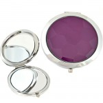 180418-PURPLE ROUND COMPACT MIRROR