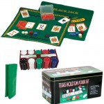 SI122004 TEXAS HOLD'EM POKER SET