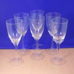 CLEAR WINE GLASS / 6 PCS. SET