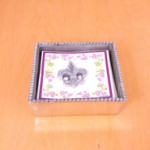 23922 - FDL BEADED SQUARE NAPKIN HOLDER