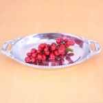 52134 - BEADED OVAL DISH