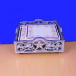 22710 - SQUARE JAR HOLDER STAR