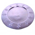 80006A - LARGE TRAY ROUND / FDL HAMMERED