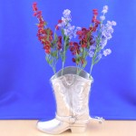 50910 - SMALL BOOT FLOWER VASE