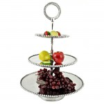 52290 - 3 TIER BEADED FRUIT STAND