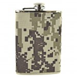 8 OZ. FLASK W/DIGITAL CAMO WRAP