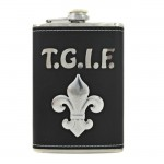 8 OZ. FLASK W/T.G.I.F/FDL