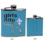 GIRLS NITE OUT 6 Oz. FLASK / W FDL