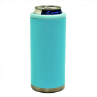 500451- AQUA 12OZ SLIM CAN KOOZIE