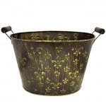 1231 - COPPER AND BRUSHED GOLD MULTI FDL BUCKET