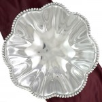 52306 - LARGE FLOWER BEADED BOWL