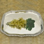 52270 Beaded Rectangular Tray