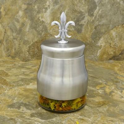 31278-FDL 30.4 Oz. TEA GLASS JAR W / SS FDL TOP