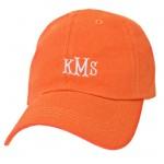 6015-ORANGE- ORANGE COTTON CAP