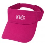 181343 - PINK COTTON VISOR CAP