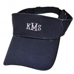 181345- NAVY COTTON VISOR CAP