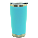500579- AQUA 20OZ STAINLESS STEEL TUMBLER