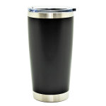 500543- BLACK 20OZ STAINLESS STEEL TUMBLER