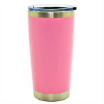500550- PINK 20OZ STAINLESS STEEL TUMBLER