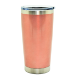 500581- ROSE GOLD 20OZ STAINLESS STEEL TUMBLER