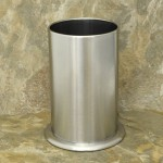 32545 - SMALL UTENSIL HOLDER STAINLESS STEEL