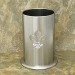 32545FDL - SMALL UTENSIL HOLDER STAINLESS STEEL /W FDL