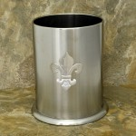 32546FDL - LARGE UTENSIL HOLDER STAINLESS STEEL /W FDL