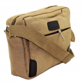 7785 - KHAKI MESSENGER BAG