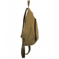 3305 - TAUPE MEDIUM  CANVAS BACKPACK