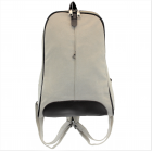 8112 -WHITE MEDIUM  CANVAS BACKPACK