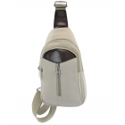 8275 -WHITE  SMALL  CANVAS BACKPACK