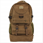 708 - BROWN CANVAS BACKPACK