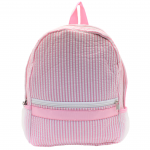 9270S -PINK SEER SUCKER BACKPACK