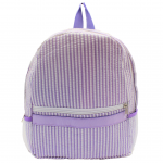 9270S - PURPLE SEER SUCKER BACKPACK