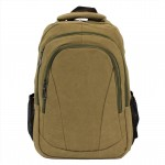 0528 - TAUPE CANVAS BACKPACK