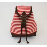 9149 - RED STRIPE SMALL BACKPACK