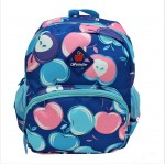 9187 - BLUE APPLES KIDS SMALL BACKPACK
