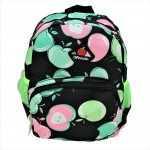 9187 - BLACK APPLES KIDS SMALL BACKPACK