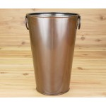 1002P Tub Round Tall Copper Plain
