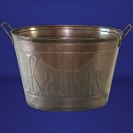 1073A Tub Oval Large Copper Kansas