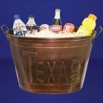 1204 Tub Oval Large Copper Texas