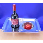 22942 Fluer De Lis Wine / Candle Holder