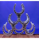 52289 WINE HOLDER - HORSE SHOE DESIGN