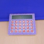 ST32117-PURPLE CRYSTAL CALCULATOR
