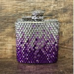 ST32120PUR-CRYSTAL FLASK PURPLE / CLEAR - 3 OZ.