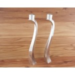 9107 - CANDLE STAND LARGE, SET OF 2
