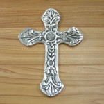 30006- ALUMINIUM WALL CROSS