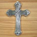 52364- ALUMINIUM WALL CROSS