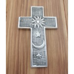 30116- ALUMINIUM WALL CROSS